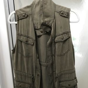 Military Style Vest, Size Small